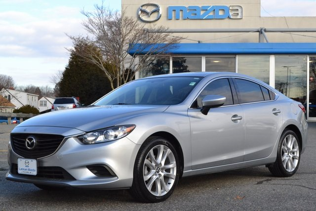 Certified Pre-Owned 2016 Mazda6 i Touring Moonroof and Bose